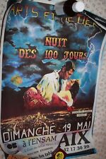 1990's gone With the Wind Movie Poster for the Nationale Art de Metiers