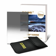 Zomei PRO 150*100mm ND2 Optical Glass Grey Square Gradual Filter For DSLR Lens