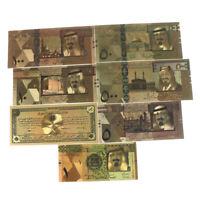 Banknoten-Goldfolien-Papiergeld-Handwerks-Sammlungs-Anmerkung Curre_DM SaudTT ZQ