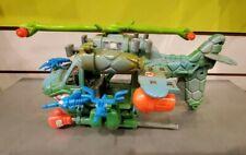 Turtle Copter NEAR COMPLETE Teenage Mutant Ninja Turtles Vehicle Helicopter TMNT