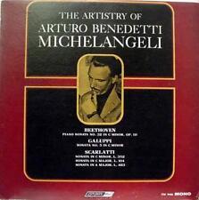 ARTURO BENEDETTI MICHELANGELI the artistry of LP VG+ CM 9446 UK Mono FFrr