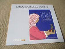 """DVD """"LATIFA, LE COEUR AU COMBAT"""" documentaire de Olivier PEYON & Cyril BRODY"""