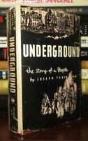 Tenenbaum, Joseph UNDERGROUND The Story of a People 1st Edition 1st Printing