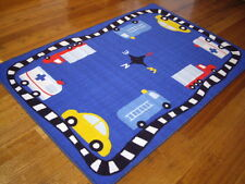 Floor Rug Modern Kids Play Mat Carpet 150 X 100 FREE DELIVERY Cars SP