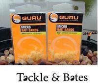 Guru Micro Bait Bands 2mm & 4mm Match Pole Feeder Fishing