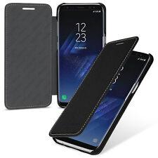 TETDED Premium Leather Case for Samsung Galaxy S8+ -- Dijon II (LC: Black)