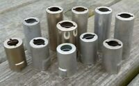 Lot of 11 VTG VACUUM TUBE HEAT-SHIELDS w Internal SPRINGS Varied Sizes & Brands