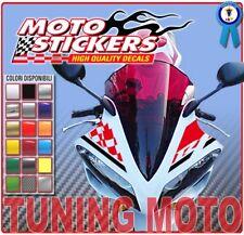Yamaha R1 2007 2008 - kit de pegatinas racing parabrisas