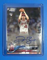 Parker Bridwell AUTO 2018 Topps Chrome autograph LOS ANGELES ANGELS BASEBALL MLB