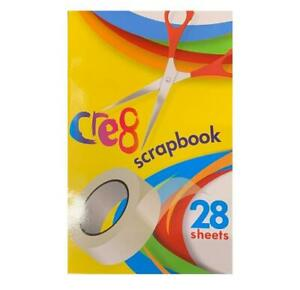 Scrap Book School Colouring Pages Kids Sticking Creative Activity Book