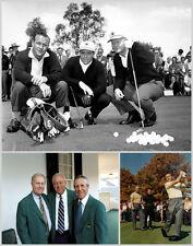 Arnold Palmer Gary Player & Jack Nicklaus Print 11 x 14  #  #3179