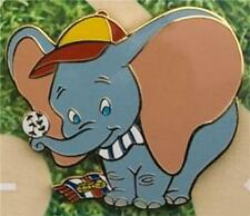 Dumbo balances baseball on a Baseball Diamond Authentic Disney Le 900 pin/pins