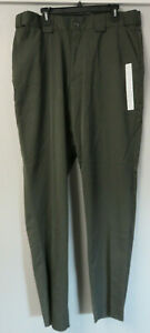 5.11 Tactical Series Green Pants 34071 T Polyester Rayon Size 20 40x37