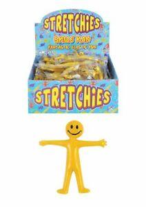 20x 40x Stretchy Smiley Little Men Flexible Elastic Toys Xmas Bag Fillers Party