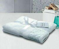 Luxury 450 GSM 100% Cotton Guest Hand Towels Horseshoe Border Towel Pair Pack
