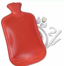 Jobar International Deluxe Hot Water Bag Bottle Kit Relaxing Heat Cold Therapy