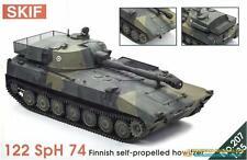 1/35 122 SpH 74 Finnish self-propelling howitzer  Skif 207 Models kits