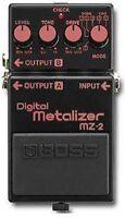 BOSS MZ-2 DIGITAL METALIZER METAL GUITAR EFFECTS PEDAL MADE IN JAPAN 1990