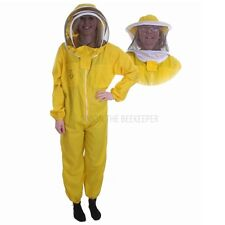 Beekeeping Yellow Bee Suit & Veil Duo Buzz Basic - Choose Your Size