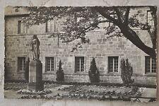 """CPSM """" Mont Ste Odile - Jardin du Couvent et Statue de Sainte Odile"""