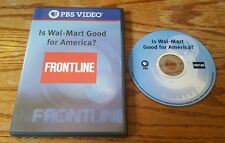 Is Wal-Mart Good For America? (DVD) Walmart Frontline episode report PBS Video