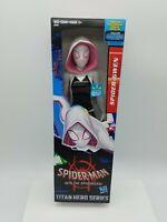 Marvel Titan Hero Power FX Series SPIDER-GWEN Posable 12 Inch Action Figure NIB