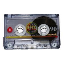 10 x Maxell Audiocassette UR90 UR 90 HQ Musik cassette Musik kassette NEUWARE