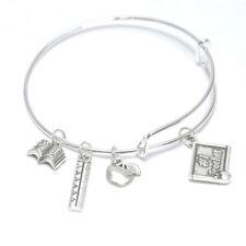 Teacher Charm Bracelet Gift For Teacher Jewelry Teacher Appreciation Thank You