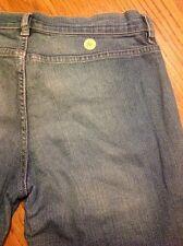 Diesel distressed button fly Women's Boot cut denim jeans size 29 #46