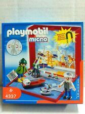 Playmobil Micro 4337 PORTO NAVALE MERCANTILE Playset Magnetico MIB, 2007