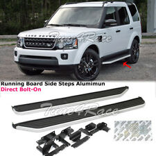 05-16 Land Rover LR3 LR4 Discovery 3 Running Board Side Step Aluminum Direct Fit
