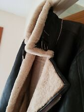 Leather Flying Jacket Genuine Sheepskin