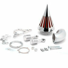 Spike Air Filter Intake Cleaner Air filter Kit  For Harley Softail Road King