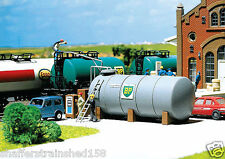 Faller # 130948  Oil Tank with Gasoline Pumps & Hoses  Kit HO Scale MIB