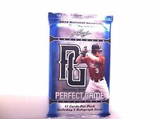 2013 Leaf Perfect Game Baseball Sealed HOT PACK Auto FREE SHIP Jeren Kendall RC