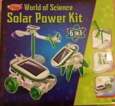 World Of Science 6 In 1 Solar Power Kit.