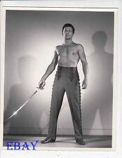 Cornel Wilde barechested California Conquest VINTAGE Photo