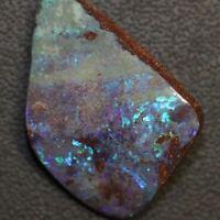 52.5 cts  Blue Australian Boulder Opal, Cut Loose Stone