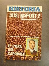 HISTORIA n° 133 - Dicembre 1968 - Copertina: 1918 - Hitler