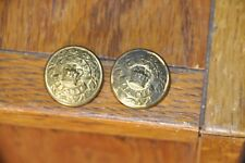 Lot Of 2 Antique Pre Ww1 Canada Militia Uniform Buttons