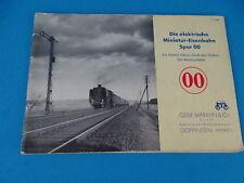 Marklin 753 N Electrische Miniatur-Eisenbahnen Spur OO Book 1938