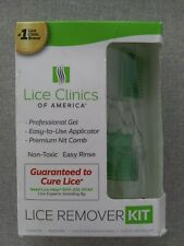 Lice Removal Kit Kills Lice Professional gel Strength Non-Toxic easy to use