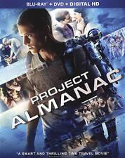 Project Almanac (Blu-ray/DVD, 2015, 2-Disc Set) NEW