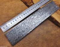 Damascus Steel Knife Making Billet Bar Raindrop patern 25CM * 5CM * 5MM