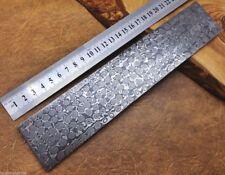 Damascus Steel Knife Making Billet Bar Raindrop patern 25CM * 5CM * 5MM