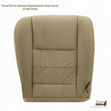 2008 09 2010 Ford F350 XLT 4X4 2WD FX4 Front Driver Bottom Cloth Seat Cover TAN