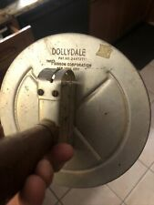 Vintage Dollydale Farm Feed Scoop With Scale Robson Corp Antique Rare