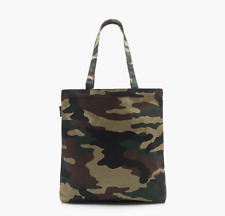 JCREW Everday Handle Large Tote Shoulder Carry Bag - Canvas Camo - Brand New