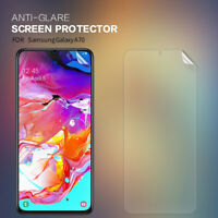 Nillkin Matte Anti-Glare Phone Screen Protectors For Samsung Galaxy A70