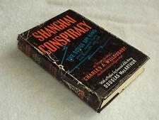"WW II  Russian spy in Japan    ""SHANGHAI CONSPIRACY: THE SORGE SPY RING"" 1952 ed"